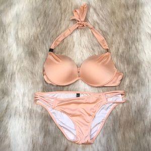 Victoria's Secret Hottie Halter Bikini Set, NWOT